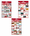 Expressive Design Group CTGG80A-2TV 80CT Glit Gift Tags
