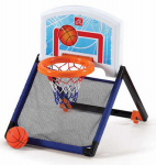 Step 2 735299 Floor-to-Door Basketball Hoop
