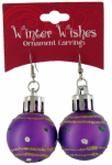 Dm Merchandising X-ORER XMAS Ornament Earrings