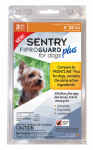 Sergeants Pet Care Prod 03160 Fiproguard Plus Flea & Tick Squeeze On, Up To 22-Lb. Dogs, 3-Pk.