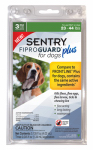Sergeants Pet Care Prod 03161 Fiproguard Plus Flea & Tick Squeeze On, 23-44-Lb. Dogs, 3-Pk.