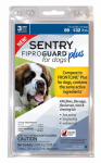 Sergeants Pet Care Prod 03163 Fiproguard Plus Flea & Tick Squeeze On, 89-132-Lb. Dogs, 3-Pk.