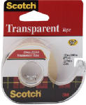 3M 144 1/2x500 Transparent Tape