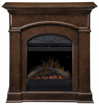 Dimplex North America DFP20-1334N Bronte Traditional Fireplace, Nutmeg, 20-In.