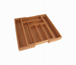 Totally Bamboo 20-2043 Drawer Organizer, Expandable, Bamboo