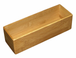Totally Bamboo 20-7561 Drawer Organizer, Bamboo, 3 x 9-In.