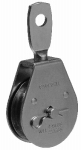 "Apex Tools Group T7550302 2"" Heavy Duty Steel Pulley, Single Sheave, Swivel Eye"