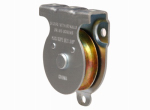 "Apex Tools Group T7550502 2"" Heavy Duty Steel Pulley, Single Sheave, Wall/Ceiling Mount"