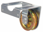 "Apex Tools Group T7551522 2"" Heavy Duty Steel Pulley, Single Sheave, Joist Mount"
