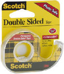 3M 136 1/2x250 Double Faced Tape