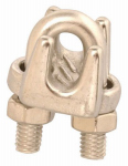 "Apex Tools Group T7633002 WIRE ROPE CLIP,1/8"",SS"