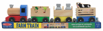 Melissa & Doug 4545 Wooden Farm Train