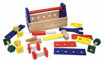 Melissa & Doug 494 Kids' Wooden Tool Kit, 24-Pc.