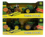 Tomy International 37563 Monster Treads Toy Vehicles, 5-In., 2-Pk.