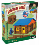 Knex Limited Partnership Group 00857 Building Block Set, Oak Creek Lodge, 135-Pc.