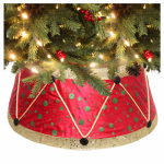Dyno Seasonal Solutions 2264927-1 Christmas Tree Collar, Drum, 11 x 26-In.