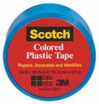 3M 190BLU 3/4 x 125-Inch Blue Plastic Tape