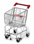 Melissa & Doug 4071 Kid's Shopping Cart, Metal