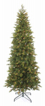 Equinox 2 BKS-31IL1-75 Artificial Pre-Lit Christmas Tree, Slim Berkshire Fir, 450 Clear Lights, Hinged, 7.5-Ft.