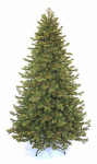 Equinox 2 CDF-11IL1-75 Artificial Pre-Lit Christmas Tree, Douglas Fir, 800 Clear Lights, Hinged, 7.5-Ft.