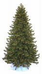 Equinox 2 CDF-11IL1-90 Artificial Pre-Lit Christmas Tree, Douglas Fir, 1000 Clear Lights, 9-Ft.