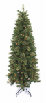 Equinox 2 OCP-31Q1-70 Artificial Pre-Lit Christmas Tree, Slim Oak Creek Pine, 300 Clear Lights, Hinged, 7-Ft.