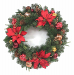"Equinox 2 HPT-407S-30 HW30""Poinset Art Wreath"