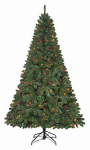Polygroup Limited TV15023 Artificial Pre-Lit Christmas Tree, Grand Duchess Spruce, 500 Multi Lights, 7.5-Ft.