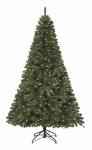 Polygroup Limited TV15024 Artificial Pre-Lit Christmas Tree, Grand Duchess Spruce, 500 Clear Lights, 7.5-Ft.