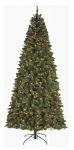 Polygroup Limited TV15044 Artificial Pre-Lit Christmas Tree, Slim Virginia Spruce, 750 Clear Lights, 9-Ft.