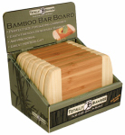 Totally Bamboo 20-1289 2-Tone Bar Boards, 8-In., Must Purchase in Quantities of 12