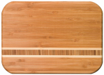 Totally Bamboo 20-1830 Martinique Bamboo Cutting Board, 15-In.