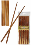 Totally Bamboo 20-2003 Bamboo Twist Chopsticks, 9.75-In., 5-Ct.