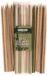 Totally Bamboo 20-2007 Bamboo Skewers, Flat, 50-Ct.