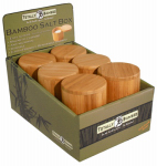 Totally Bamboo 20-2083 RND Bamboo Salt Box