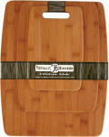 Totally Bamboo 20-7920 Cutting Board Set, Bamboo, 3-Pc.