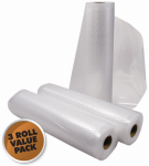 Weston Products 30-0202RT Realtree Vacuum Sealer Bag Roll, 3-Pack, 11-In. x 18-Ft.