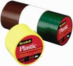 3M 191BRN 1-1/2 x 125-Inch Brown Plastic Tape
