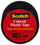 3M 191BK 1-1/2 x 125-Inch Black Plastic Tape