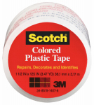 3M 191CL 1-1/2 x 125-Inch Transparent Plastic Tape