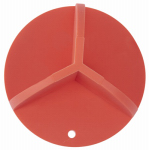Allen 15422 Take-A-Hit Target, Holey Roller, Orange