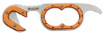 Allen 1895 Gut Hook Skinning Knife, Orange