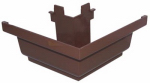 Genova Products AB103BK Gutter Corner, Outside, Brown