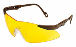 Allen 2272 Reaction Shooting Glasses, Yellow Lens/Gray Frame