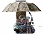 Allen 190 Instant Roof Tree Stand Umbrella, Camo, 57-In.