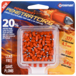Crosman Air Guns LF1754 Penetrator .177 Caliber Pellets, 150-Ct.