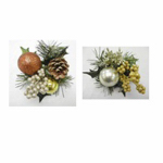 "Gerson 2245320TV 6""GLD Glitter Pine Pick"