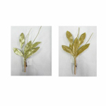 "Gerson 2245340TV 6""Glitt Gold Leaves Pick"