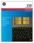 Nicolas Holiday GE62205 String A Long Net Light Set, Multi, 150-Ct., 6 x 4-Ft.