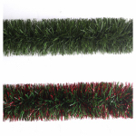 Dyno Seasonal Solutions 100809-66CC Tinsel Garland, Pine Green, 9-Ft.